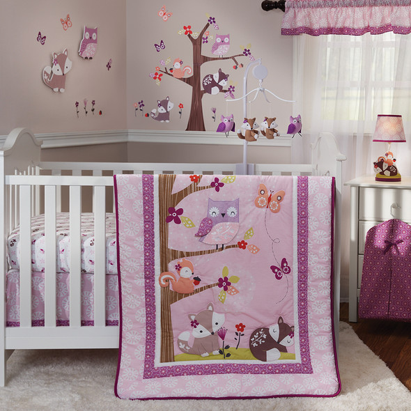 Bedtime Originals Lavender Woods Bedding Set