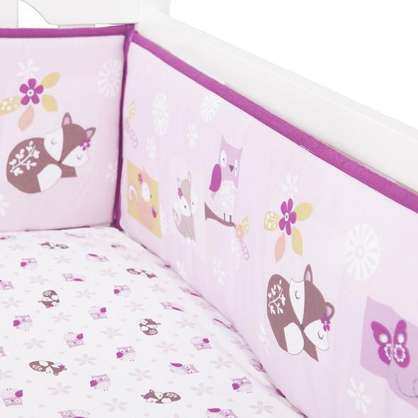 Bedtime Originals Lavender Woods Crib Bumper