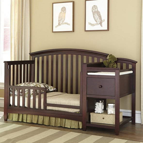 Imagio Baby Montville Crib and Changer with Pad