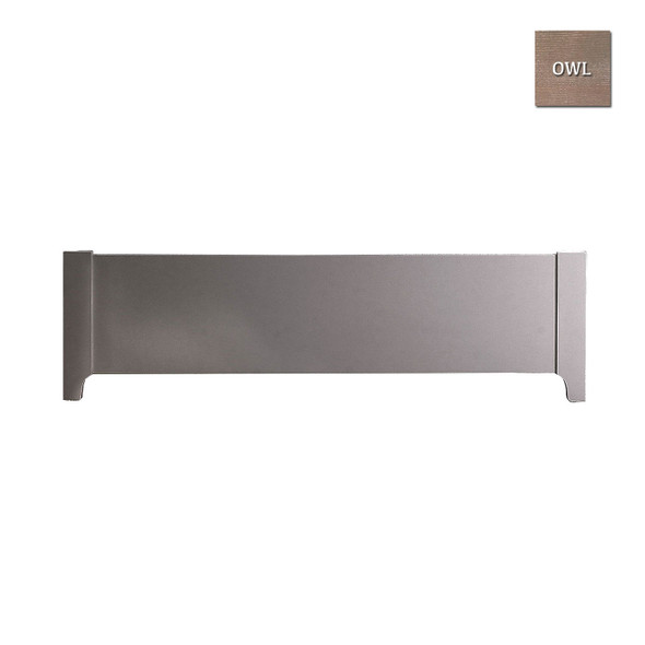Natart Rustico Collection Low Profile Footboard in Owl