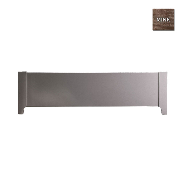 Natart Rustico Collection Low Profile Footboard in Mink