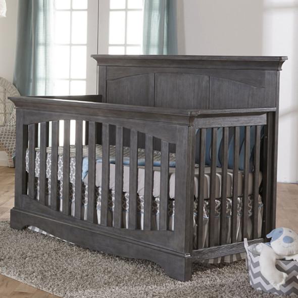 Pali Ragusa Convertible Crib in Distressed Granite