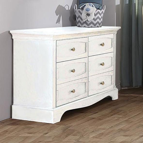 Pali Ragusa Double Dresser in Vintage White