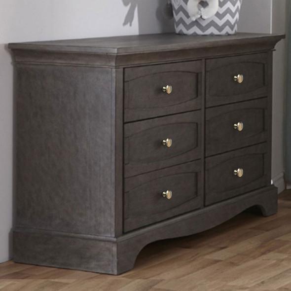 Pali Ragusa Double Dresser in Distressed Granite