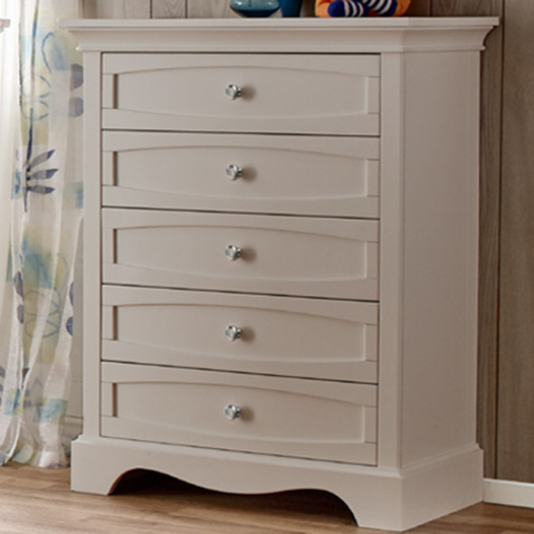 Pali Ragusa 5 Drawer Dresser in Stone
