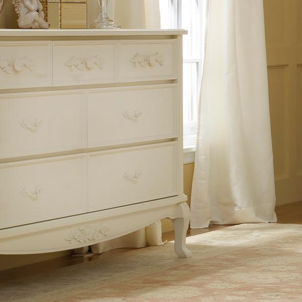 Dolce Babi Angelina 3 Piece Nursery Set in French Vanilla