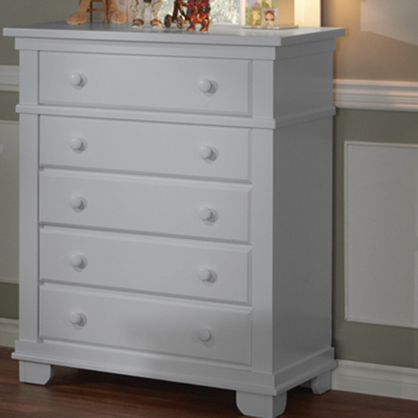 Pali Lucca Collection 5 Drawer Dresser in Stone