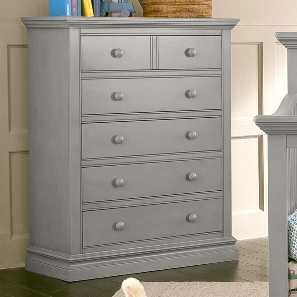 Westwood Pine Ridge 5 Drawer Chest in Cloud