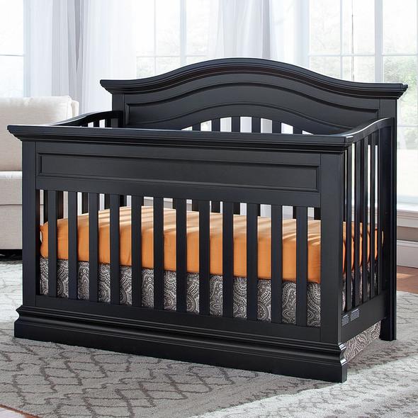 Westwood Stone Harbor Convertible Crib in Black