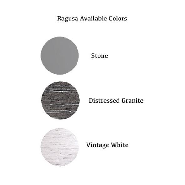 Pali Ragusa 2 Piece Nursery Set in Vintage White - Crib and 5 Drawer Dresser