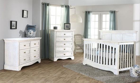 Pali Ragusa 3 Piece Nursery Set in Vintage White