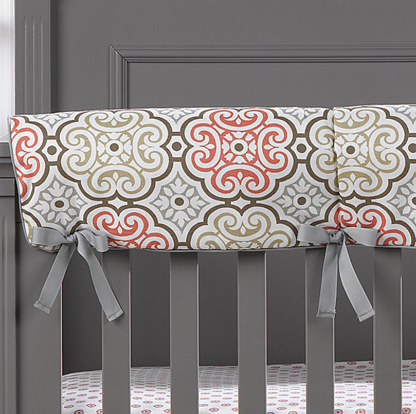 Liz and Roo Garden Gate Teething Rail Cover