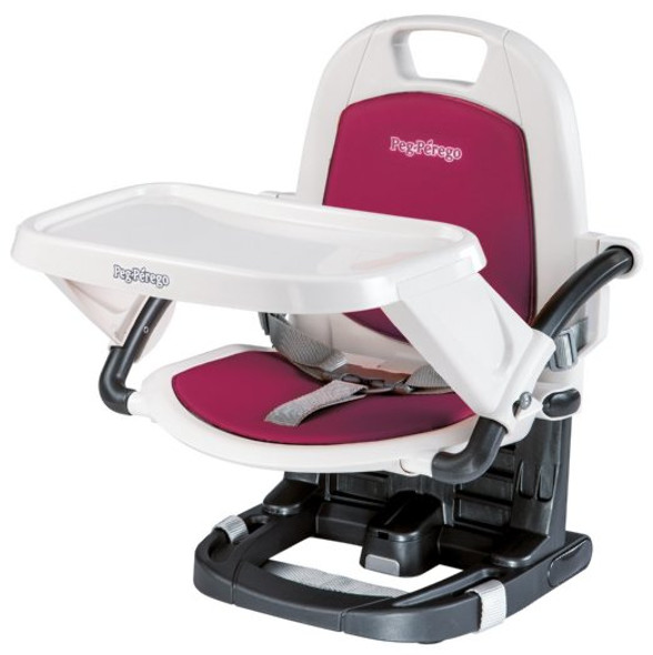 Peg Perego Rialto Booster Seat in Berry