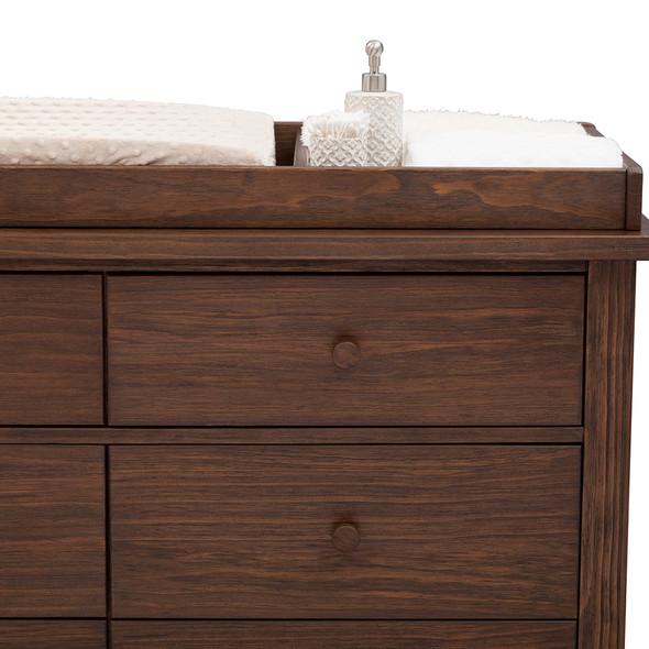 Serta Northbrook Changing Top in Rustic Oak