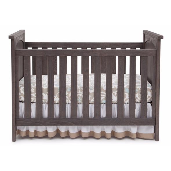 Serta Northbrook 3 in 1 Crib in Rustic Grey