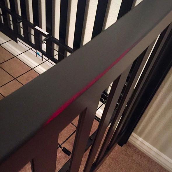 Westwood Pine Ridge 2 Piece Nursery Set - Crib and Double Dresser in Black
