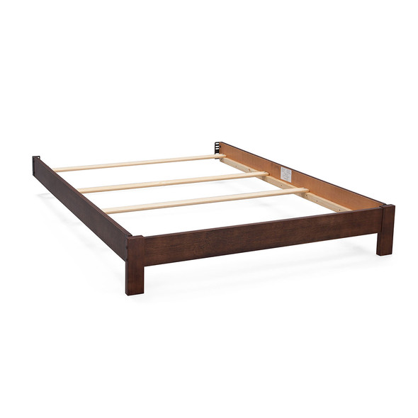 Serta Platform Full Size Bed Kit in Rustic Oak