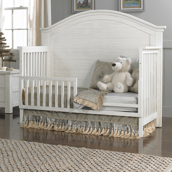 Dolce Babi Lucca Full Panel Convertible Crib in Sea Shell