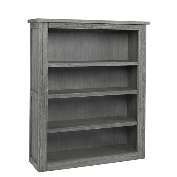Dolce Babi Lucca Bookcase/Hutch in Weathered Grey by Bivona & Company