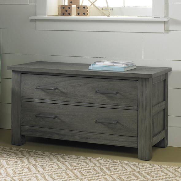 Dolce Babi Lucca 2 Drawer Chest in Weathered Grey by Bivona & Company
