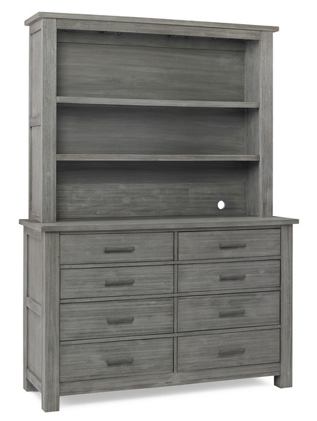 Dolce Babi Lucca Hutch in Weathered Grey by Bivona & Company