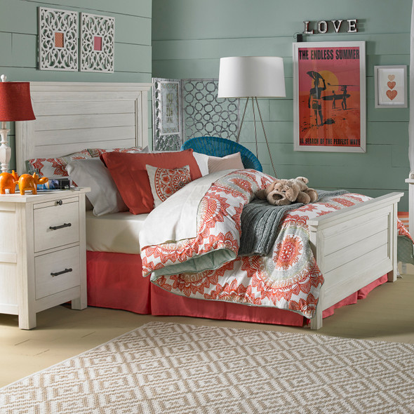 Dolce Babi Lucca Full Size Bed in Sea Shell by Bivona & Company