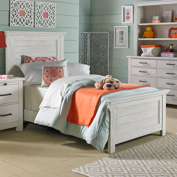 Dolce Babi Lucca Twin Size Bed in Sea Shell by Bivona & Company
