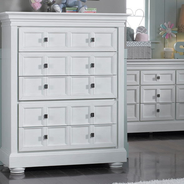 Dolce Babi Serena 5 Drawer Chest in Sea Shell
