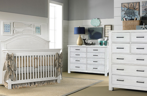 Dolce Babi Lucca 3 Piece Nursery Set in Sea Shell