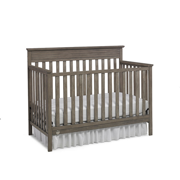 Fisher Price Newbury Convertible Crib in Vintage Grey