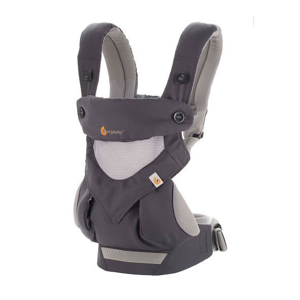 Ergobaby Original Collection Four Position 360 Cool Air Carrier in Carbon Grey