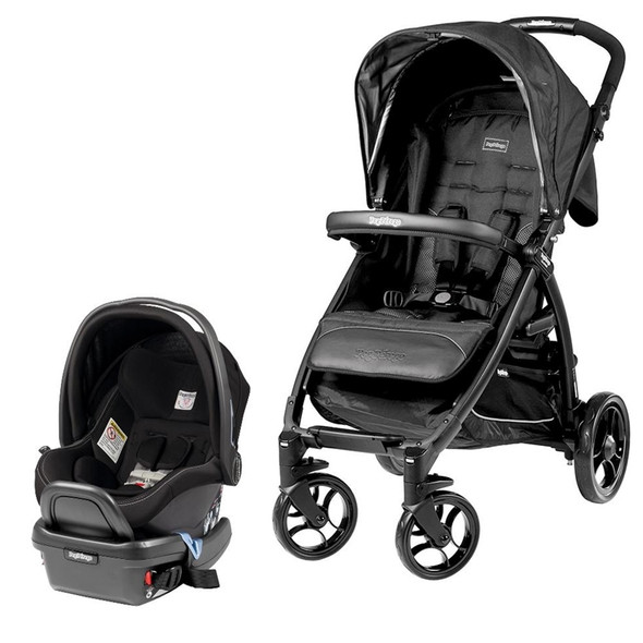 Peg Perego Booklet Travel System Stroller in Onyx