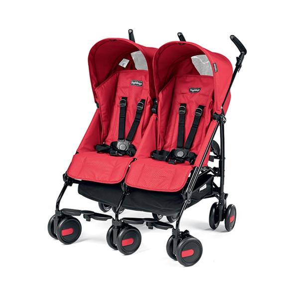 Peg Perego Pliko Mini Twin in Mod Red