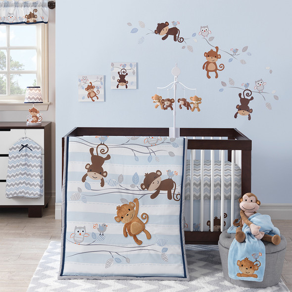 Bedtime Originals Mod Monkey Bedding Set