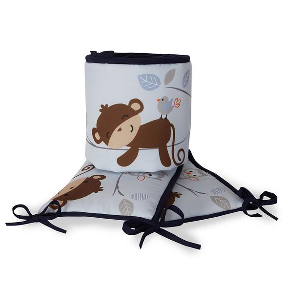 Bedtime Originals Mod Monkey Crib Bumper