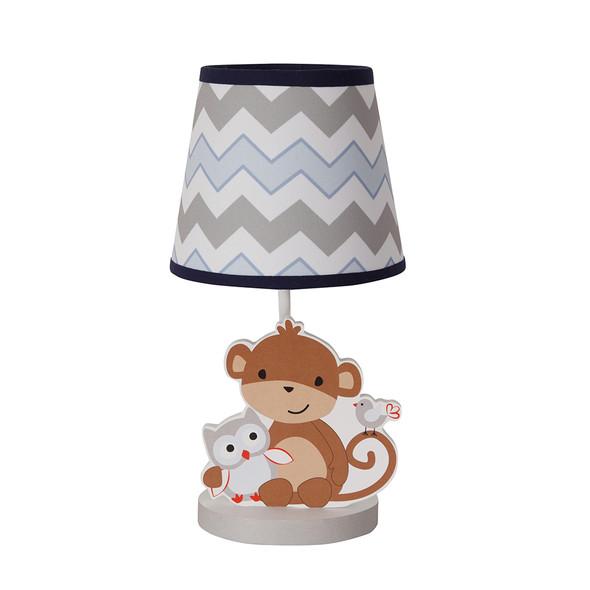 Bedtime Originals Mod Monkey Lamp w/Shade & Bulb