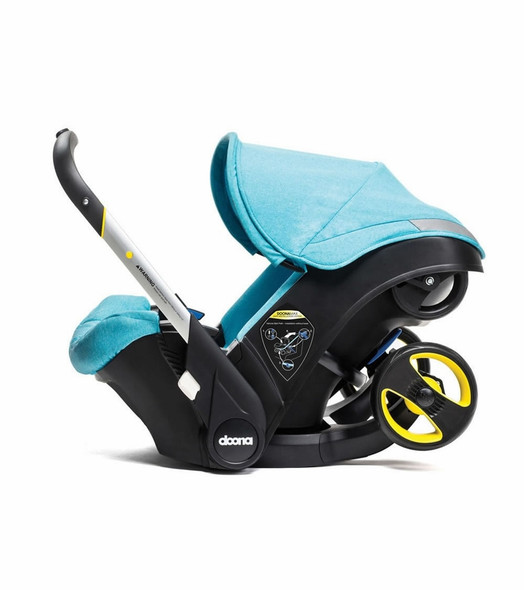 Doona Infant Carseat with Base in Turquoise