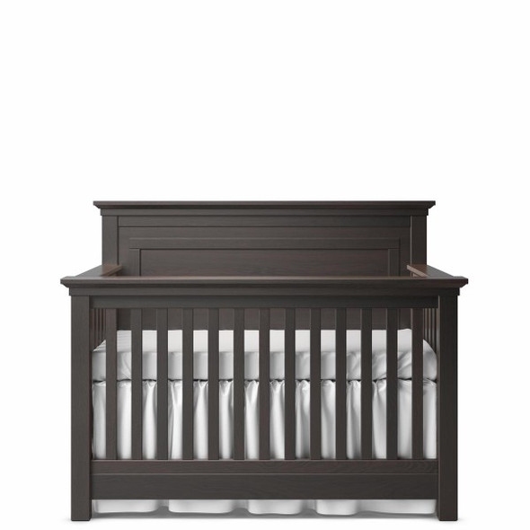 Romina Karisma Collection Convertible Crib with Full Panel in Bruno Rosso