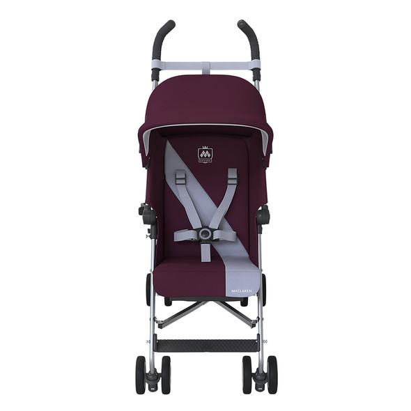 Maclaren Triumph Stroller in Plum/Grey Dawn
