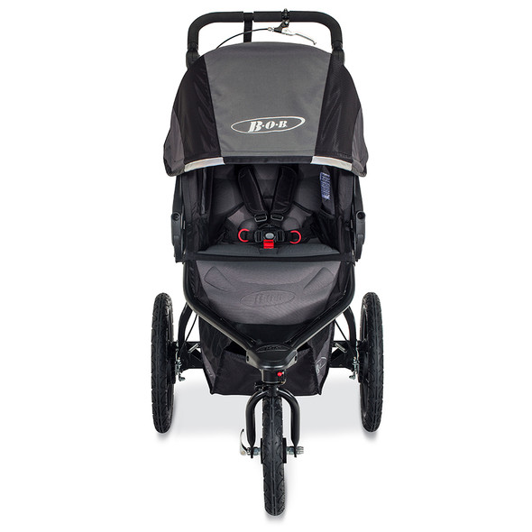 Bob Revolution Pro Stroller in Black/Black