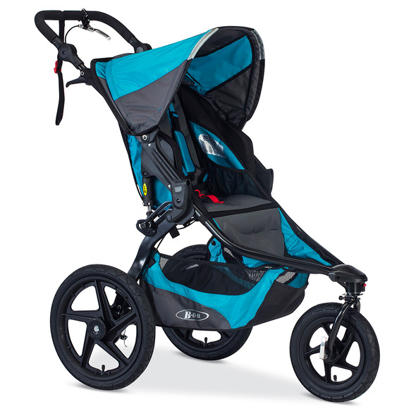 Bob Revolution Pro Stroller in Lagoon/Black