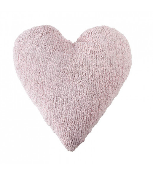 Lorena Canals Heart Cushion in Pink
