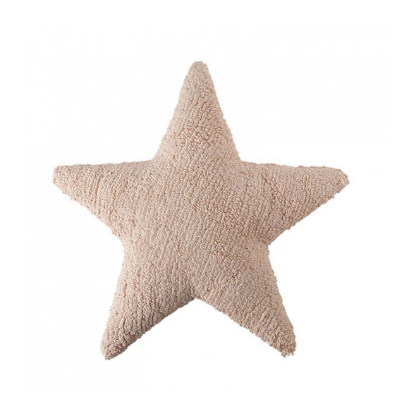 Lorena Canals Star Cushion in Nude