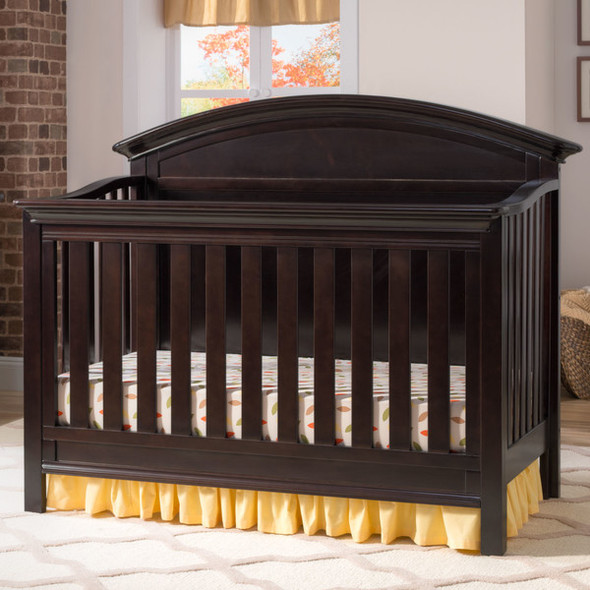 Serta Adelaide 4 in 1 Crib in Dark Chocolate