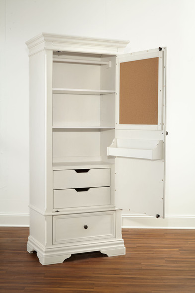Stella Baby and Child Athena Collection Armoire in Belgium Cream