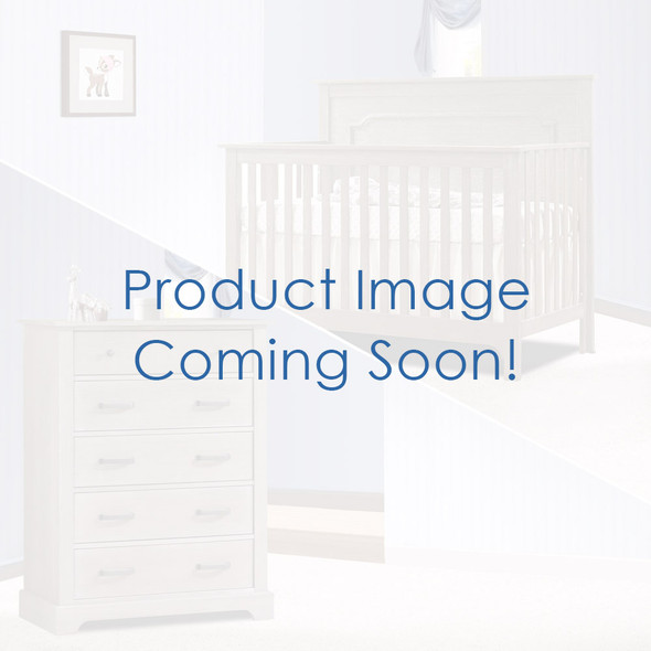 Nest Emerson Collection 2 Piece Nursery Set Crib and 5 Drawer Dresser in White