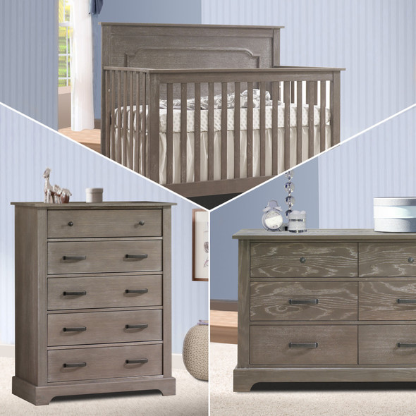 Nest Emerson Collection 3 Piece Nursery Set in Owl