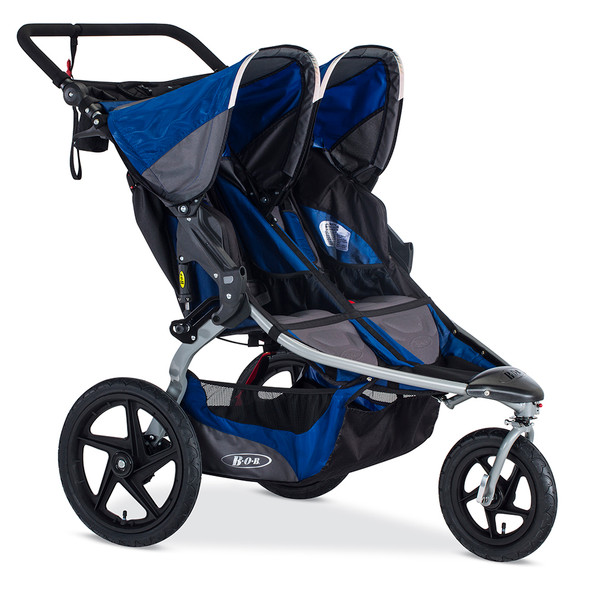 Bob Stroller Strides Duallie in Blue