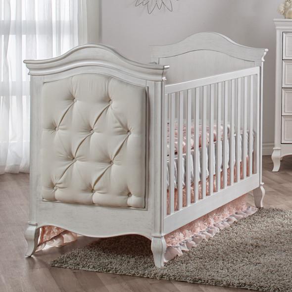 Pali Diamante Classic Crib in Vintage White