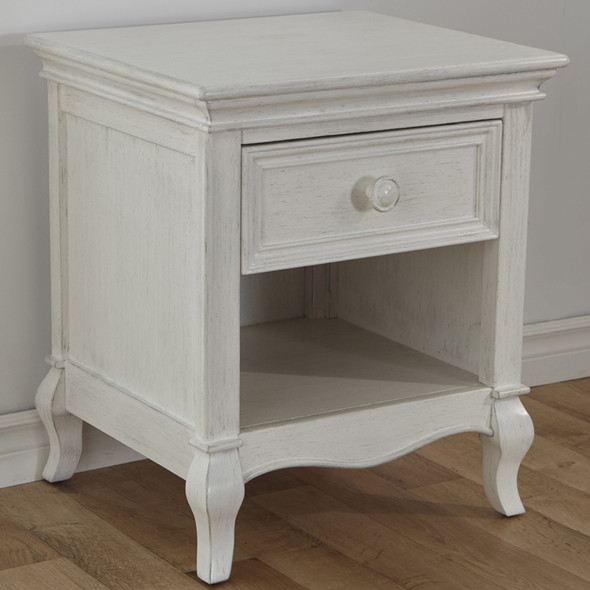 Pali Diamante Nightstand in Vintage White